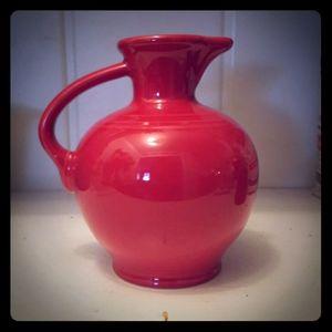 Fiestaware Scarlet red (retired color)Carafe